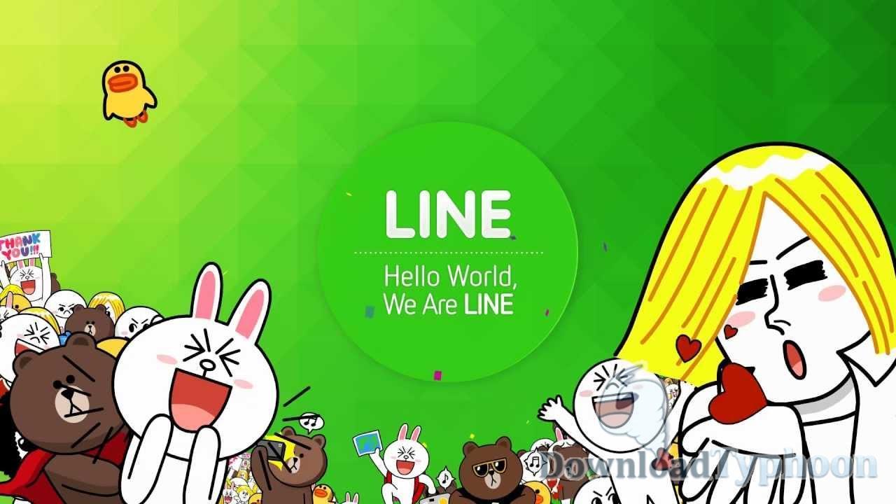 LINE full screenshot