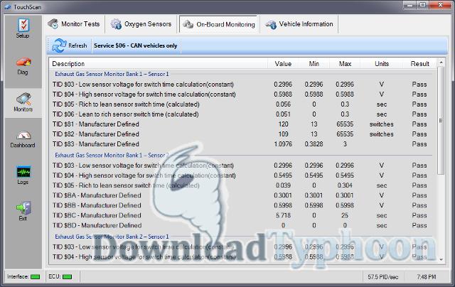 TouchScan full screenshot