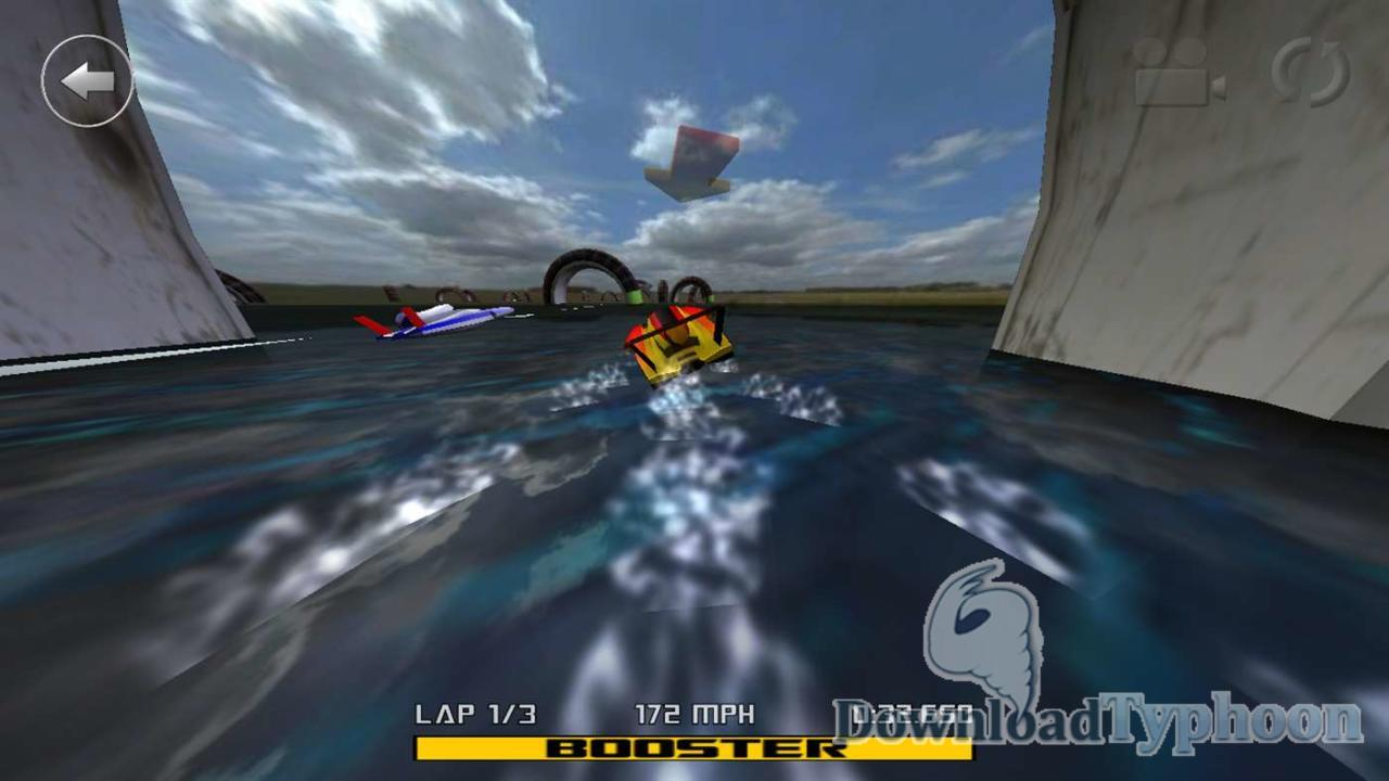 3D Boat Race for Windows UWP full screenshot
