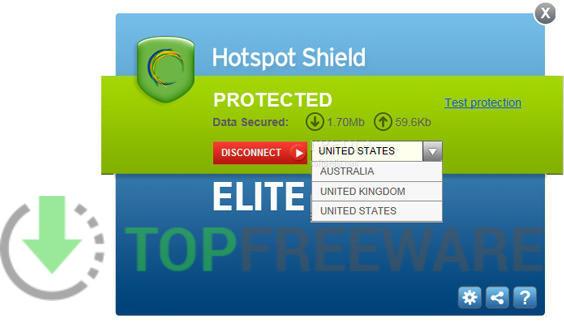 Hotspot Shield - Top Freeware