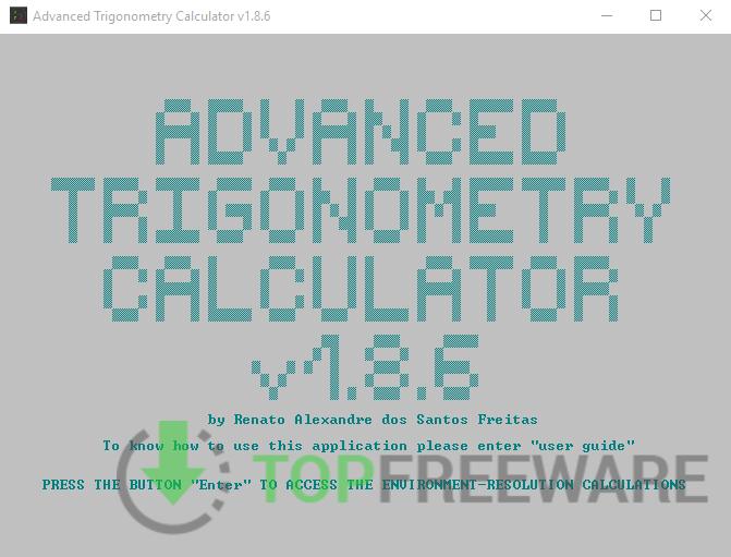 Advanced Trigonometry Calculator - Top Freeware