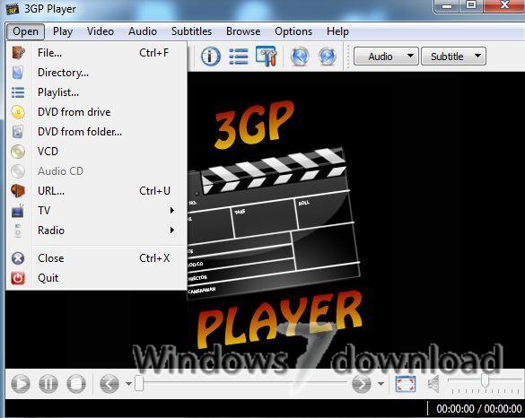 Windows 7 3GP Player 2013 1.4 full