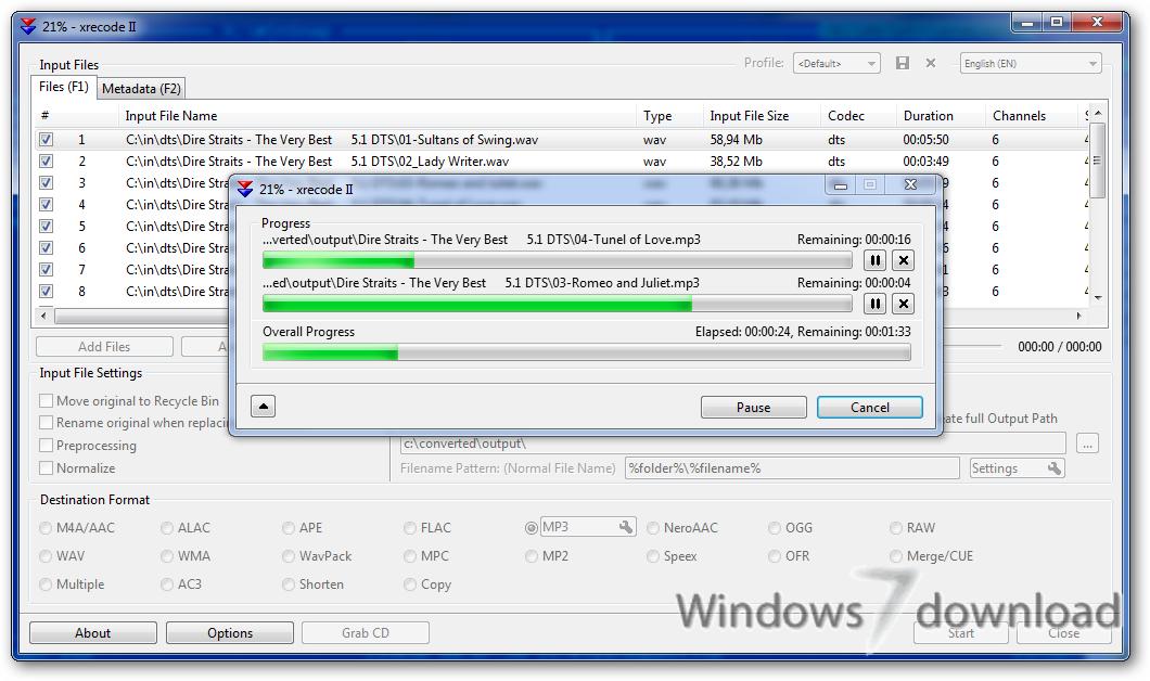 Windows 7 XRECODE III 1.97 full