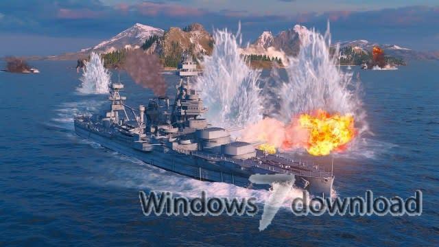 Windows 7 World of Warship 0.8.10 full