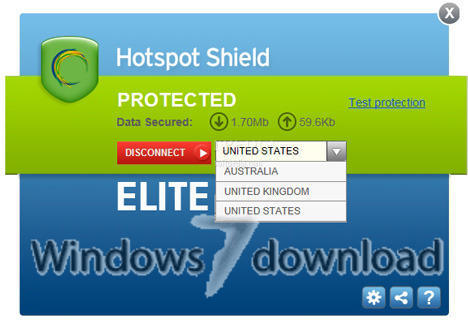 hotspot shield software free  softonic