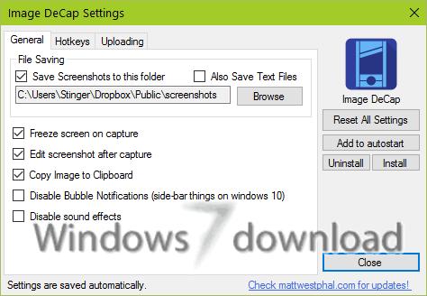 Full Image DeCap screenshot