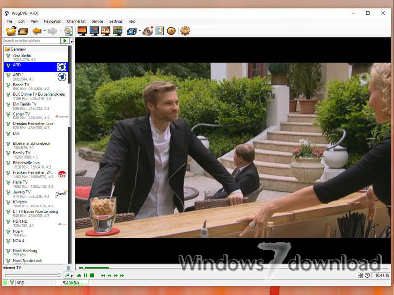 WatFile.com Download Free ProgDVB (32 bit) for Windows 7 - Watching TV and listening to radio
