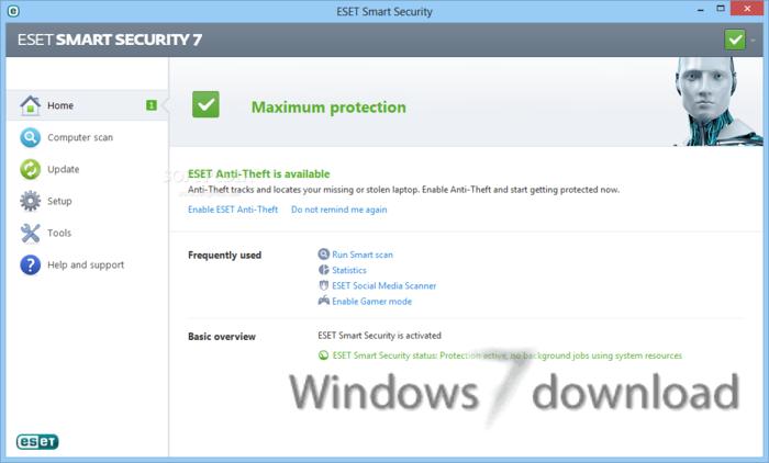 Full ESET Smart Security (64 bit) screenshot