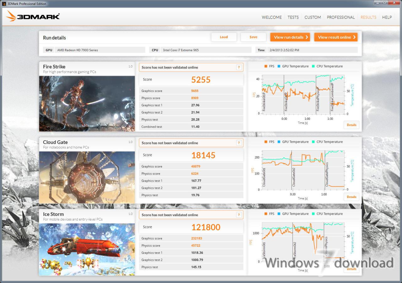 Windows 7 3DMark 2.11.6866 full