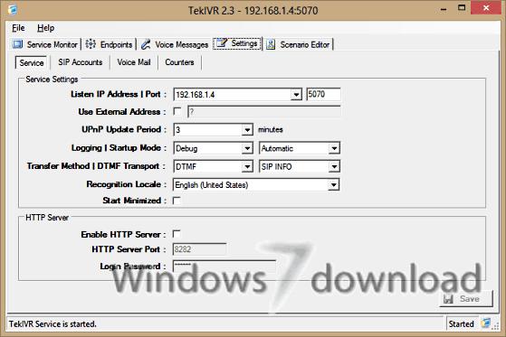 Full TekIVR screenshot