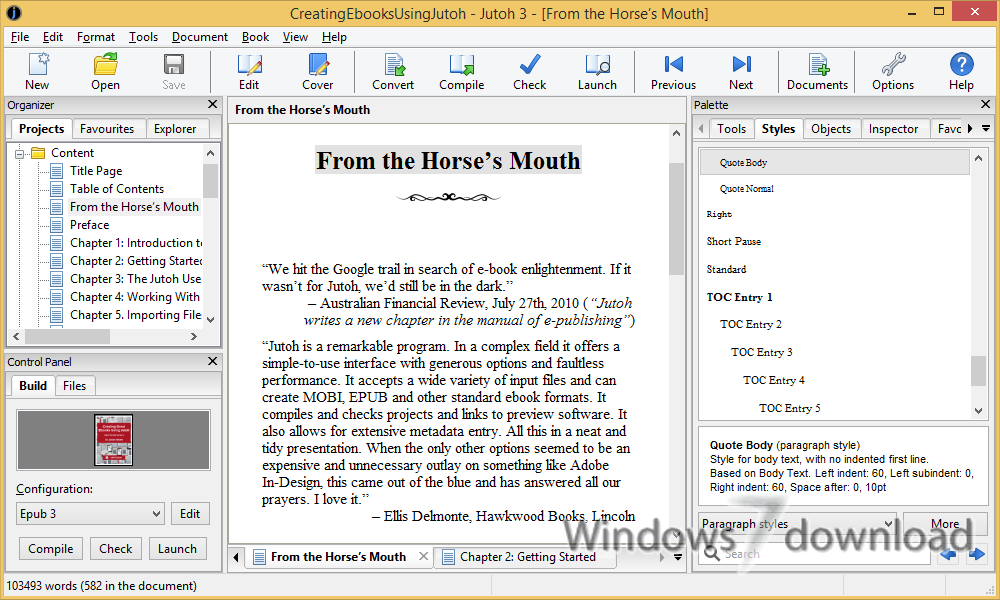 Windows 7 Jutoh Portable 3.09 full