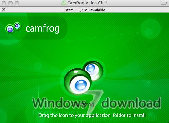 Full Camfrog Video Chat screenshot