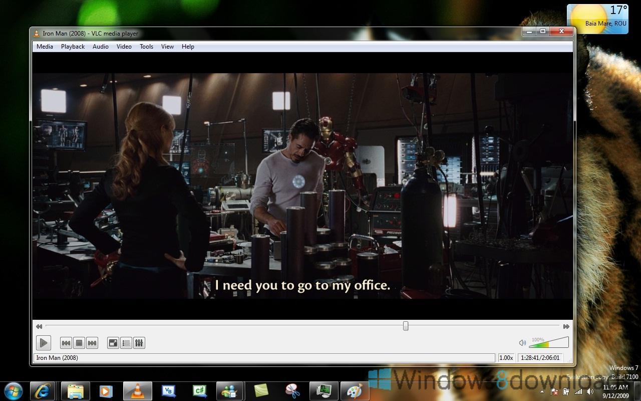 Windows 8 VLC Media Player x64 full