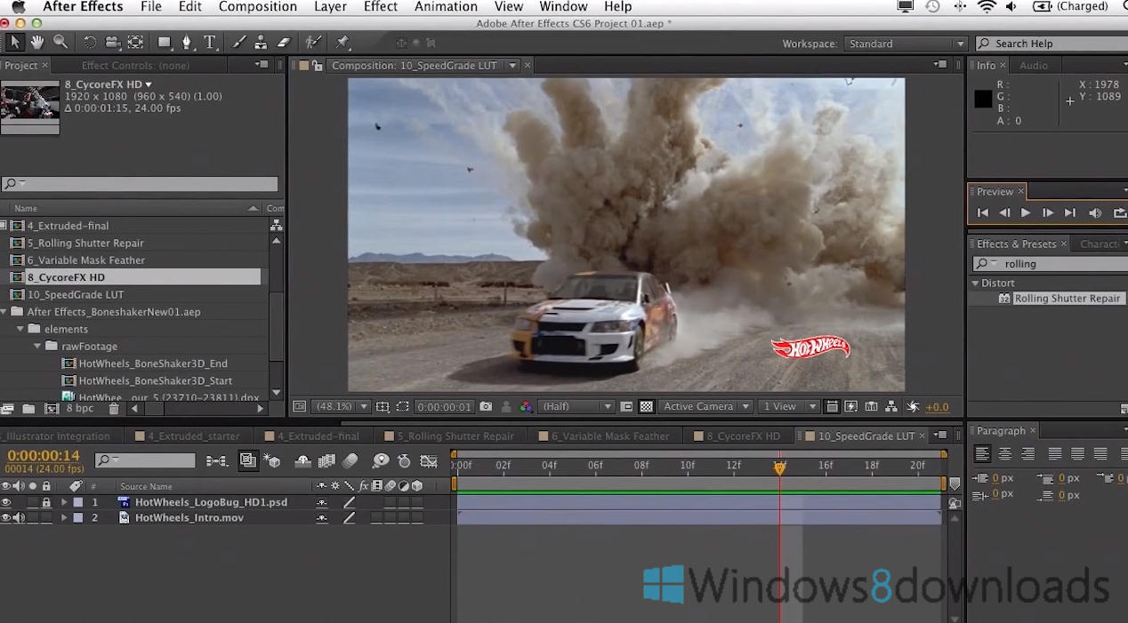 Full Adobe After Effects screenshot
