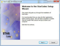 StarCodec screenshot