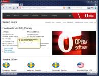 Opera screenshot
