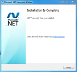 Microsoft .NET Framework 4 screenshot