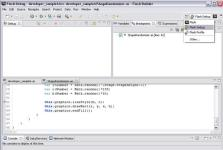 Adobe Flash Player Debugger screenshot
