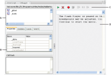 Adobe Flash Player Debugger screenshot
