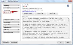 gSyncit 64-bit screenshot