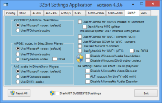 Advanced Codecs for Windows 7 and 8 screenshot