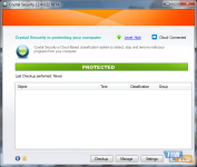 Crystal Security screenshot