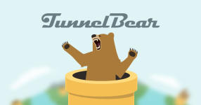 TunnelBear screenshot