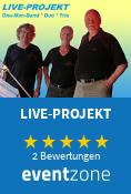 LIVE-PROJEKT, Partyband aus Halle (Saale)