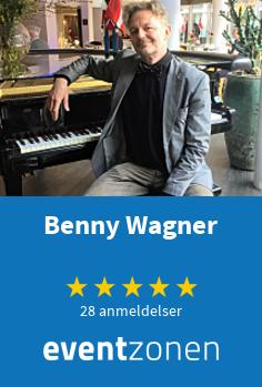 Benny Wagner, pianist fra Aalborg