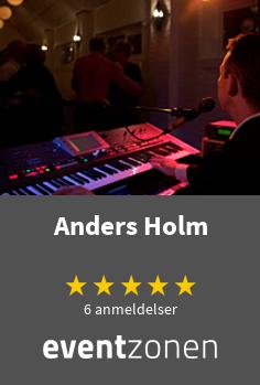 Anders Holm, solomusiker fra Bindslev