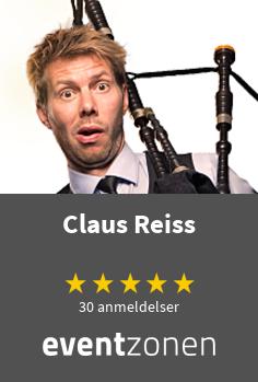 Claus Reiss, stand-up komiker fra København