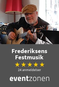 Frederiksens Festmusik, guitarist fra Roskilde