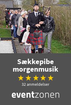 Sækkepibe morgenmusik, morgenmusik fra København