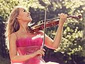 Violinist Michala Høj