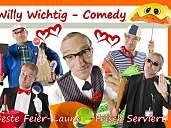 Willy Wichtig - Comedy: Butler, Kellner, Hausmeister, Security, Polizist ....