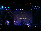 Waves On Fire