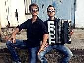 Duo Druckluft: Akkordeon-Cajon-Combo Deluxe
