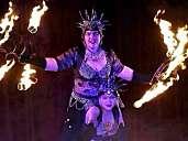 Duo Fantasía Orientica-When Fire embraces Dance