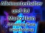 Alleinunterhalter und DJ Mario Hain