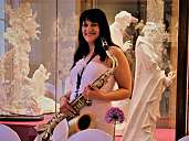 Die-Musikerin Marie-Joana