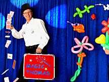 1 A MAGIC THOMAS Zauberer + Ballonkünstler
