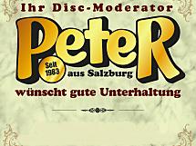 Disc-Moderator Peter Rebhan / Mobile-Discothek