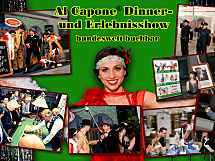 Al Capone Dinner- & Erlebnisshow