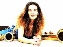 Lady Luck Saxophonistin und Sängerin