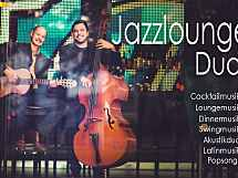 JAZZLOUNGE  DUO    Gitarre und Kontrabass