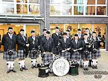 White Hackle Pipes and Drums