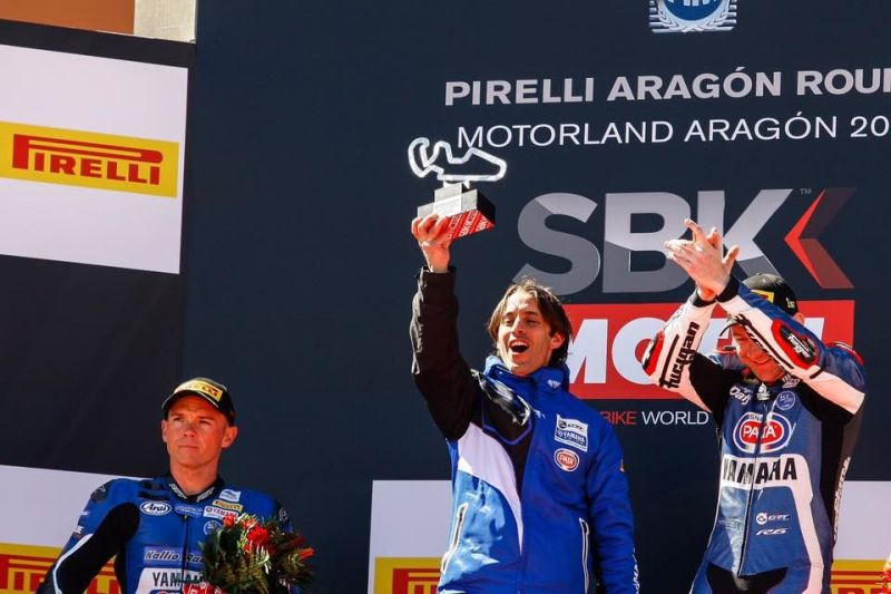 Lucas Takes Championship Lead with Stunning Aragon Victory
