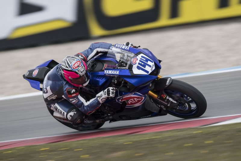 GRT Yamaha Pick Up the Pace in Assen World Supersport Superpole