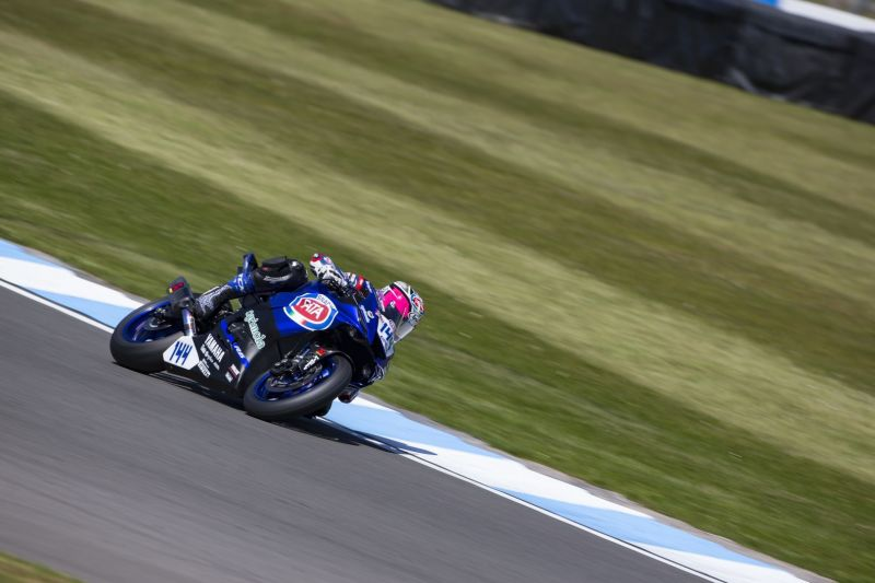 Determined Start in Donington for Mahias and Caricasulo<br />