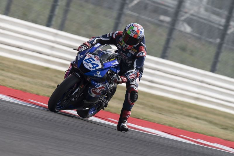 GRT Yamaha Turn up the Heat on Friday at Misano